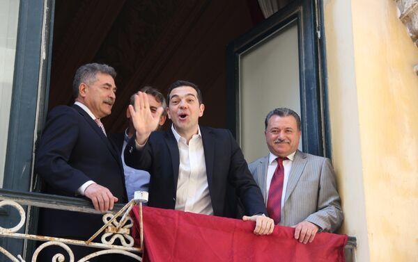 Алексис Ципрас - посебан поздрав поводом Васкрса читаоцима Спутњика. - Sputnik Србија