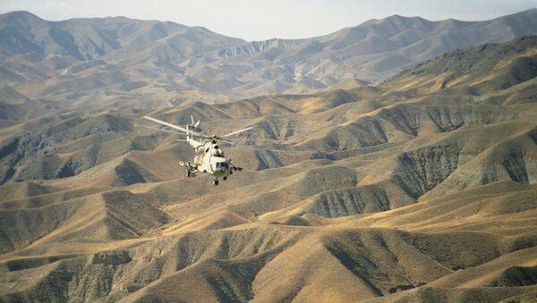 Хеликоптер у планинама Авганистана - Sputnik Србија