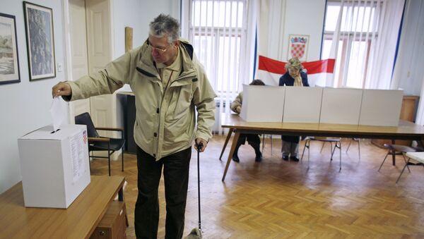 Избори у Хрватској - Sputnik Србија