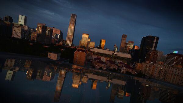 Pogled na centralni poslovni okrug u Pekingu - Sputnik Srbija