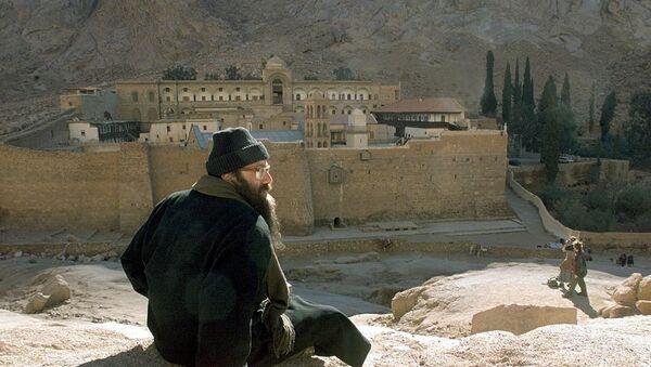 Manastir Svete Katarine na Sinajskom poluostrvu - Sputnik Srbija
