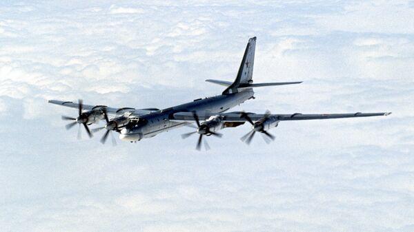 Strateški bombarder Tu-95MS - Sputnik Srbija
