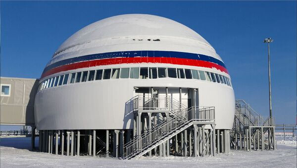 Ruska baza na Arktiku - Sputnik Srbija