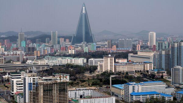Погледа на Пјонгјанг, Северна Кореја - панорама града - Sputnik Србија