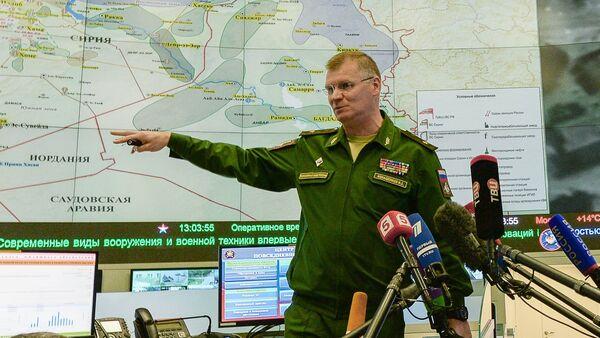 Portparol Ministarstva odbrane Rusije Igor Konašenkov - Sputnik Srbija