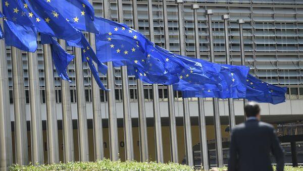 Зграда Европске комисије у Бриселу - Sputnik Србија