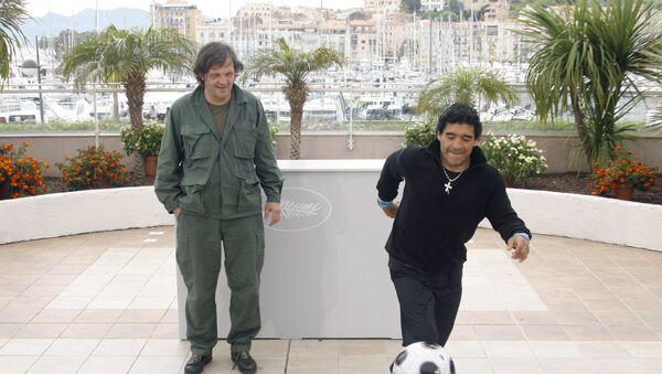Emir Kustirica i Dijego Maradona - Sputnik Srbija