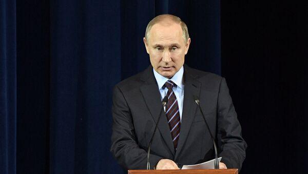 Predsednik Rusije Vladimir Putin / - Sputnik Srbija