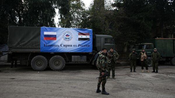 Руски и Сиријски војници у Алепу, Сирија - архивска фотографија - Sputnik Србија