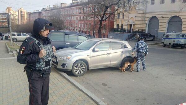 Припадник полиције у Хабаровску - Sputnik Србија