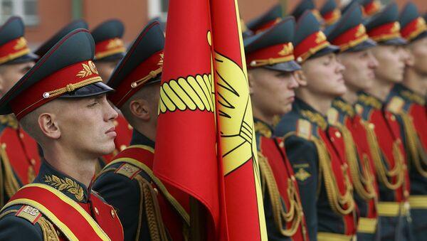 Pripadnici počasne garde Vojske Rusije - Sputnik Srbija