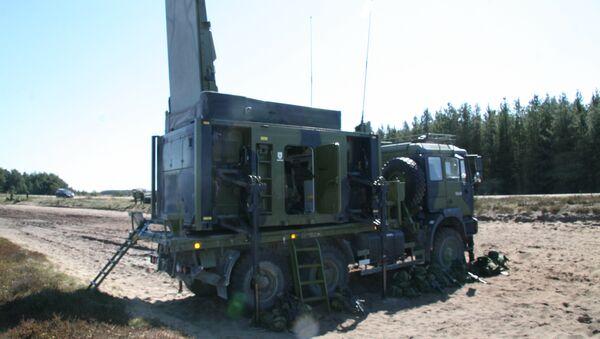 Mobilni radar Artur - Sputnik Srbija