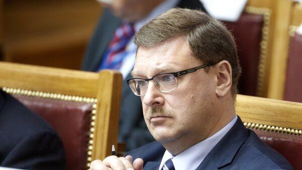 Predsedavajući Odbora za međunarodne poslove Saveta federacije Rusije Konstantin Kosačov - Sputnik Srbija