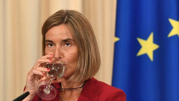 Шеф европске дипломатије Федерика Могерини - Sputnik Србија