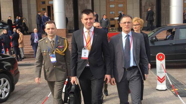 Министар одбране Зоран Ђорђевић у Москви - Sputnik Србија