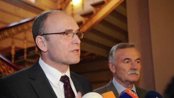 Премијер немачке савезне државе Мекленбург – Западна Померанија Ервин Зелеринг - Sputnik Србија