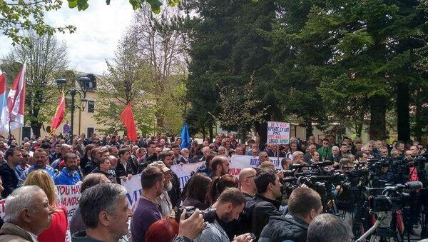 Crna gora, protest - Sputnik Srbija