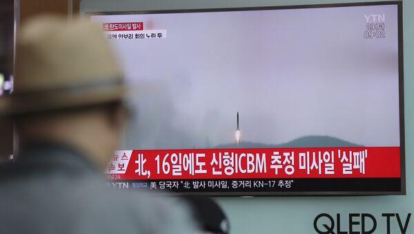 Lansiranje rakete u Severnoj Koreji - Sputnik Srbija