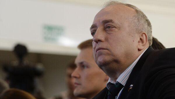 Pervый zamestitelь predsedatelя Komiteta Soveta Federacii po oborone i bezopasnosti Franc Klincevič - Sputnik Srbija