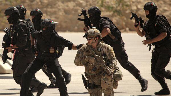 Specijalne snage Iraka, Jordana i SAD tokom vojne vežbe u Amanu - Sputnik Srbija