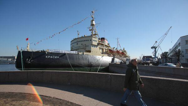 Ледоломац Красин у Санкт Петербургу - Sputnik Србија