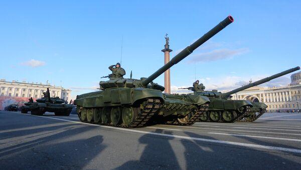 Тенк Т-72Б3 - Sputnik Србија