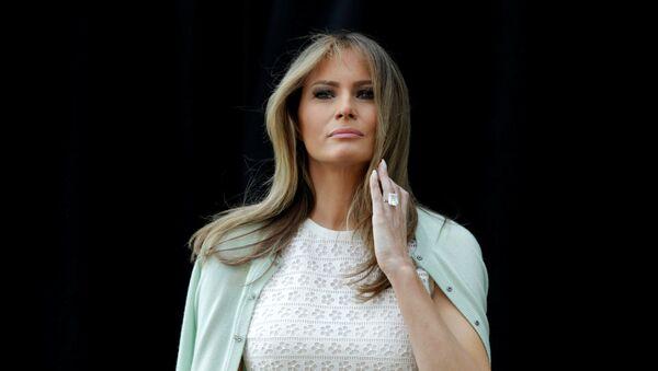 Prva dama SAD Melanija Tramp u Vašingtonu - Sputnik Srbija