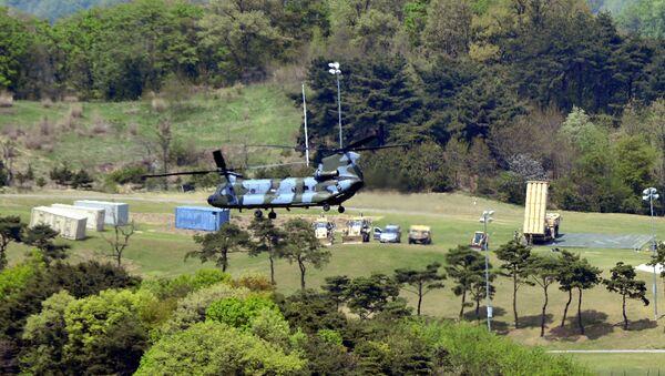 Protivraketni sistem THAAD u Sengdžuu u Južnoj Koreji - Sputnik Srbija