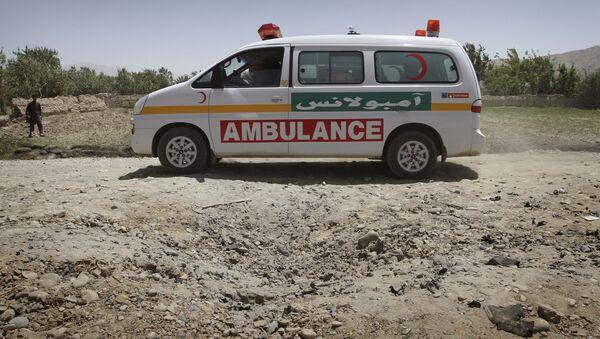 Амбулантна кола у Авганистану - Sputnik Србија