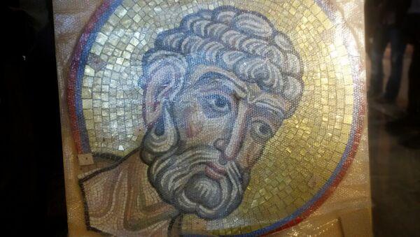 Deo mozaika Svetog apostola Petra. - Sputnik Srbija
