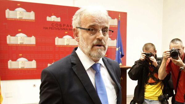 Predsednik Sobranja Taljat Džaferi - Sputnik Srbija