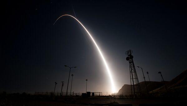 Тестирање америчке интерконтиненталних балистичкх ракета Minuteman III - Sputnik Србија