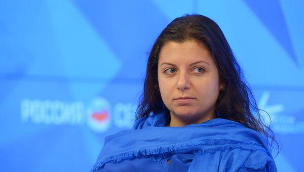 "Glavna i odgovorna urednica RT i agencije ""Sputnjik"" Margarita Simonjan - Sputnik Srbija"