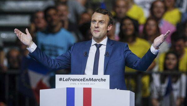 Кандидат за председника Француске Емануел Макрон - Sputnik Србија