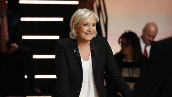 Кандидат за председника Француске Марин ле Пен - Sputnik Србија