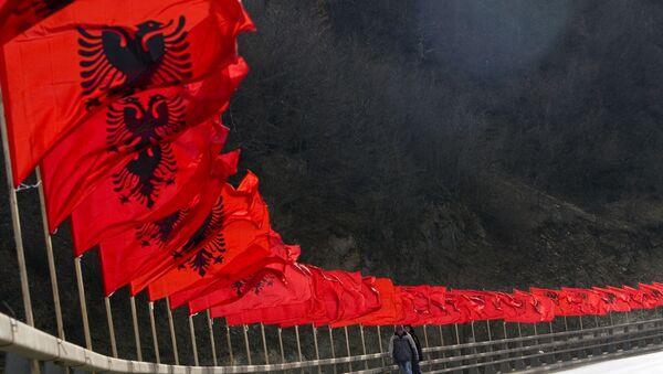 Albankse zastave - Sputnik Srbija
