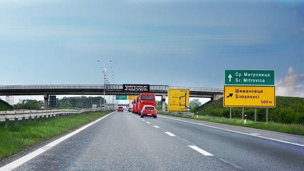 Auto-put Beograd-Zagreb - Sputnik Srbija