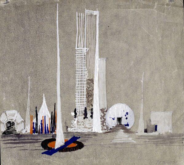 """""""Замислите Москву. Архитектура, пропаганда, револуција"""" у Лондону - Sputnik Србија"""