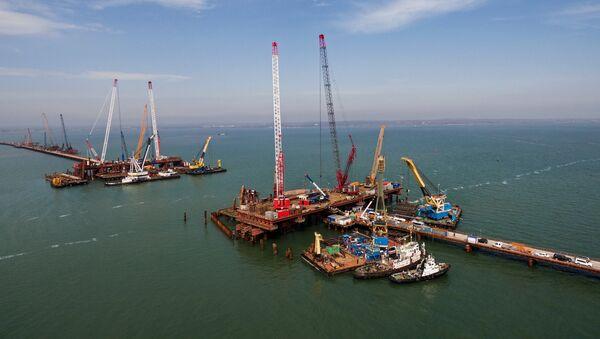 Izgradnja Krimskog mosta - Sputnik Srbija
