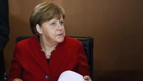 Немачка канцеларка Ангела Меркел на састанку кабинета у Берлину - Sputnik Србија