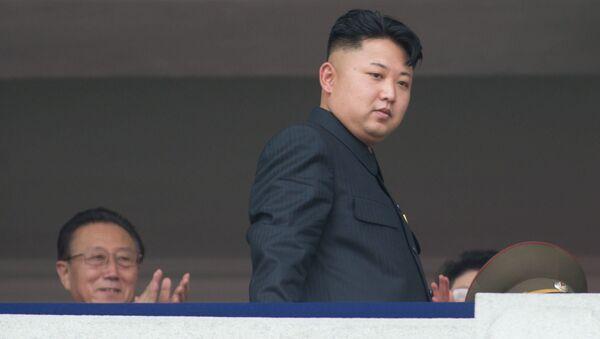 Ким Џонг Ун, севернокорејски лидер - Sputnik Србија