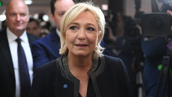Kandidat za predsednika Francuske Marin le Pen - Sputnik Srbija