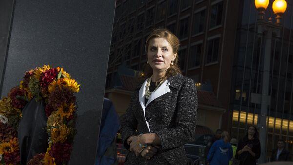 Жена украјинског председника Марина Порошенко - Sputnik Србија