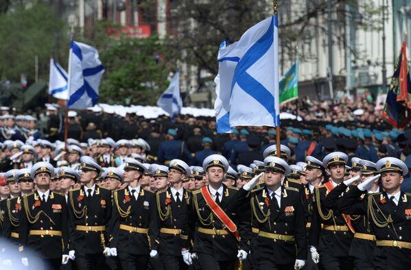 Војна парада у Владивостоку - Sputnik Србија