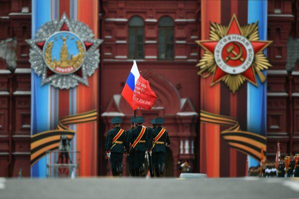 Војна парада у Москви поводом 72. годишњице победе у Великом отаџбинском рату, на Дан победе, 9. мај 2017 - Sputnik Србија
