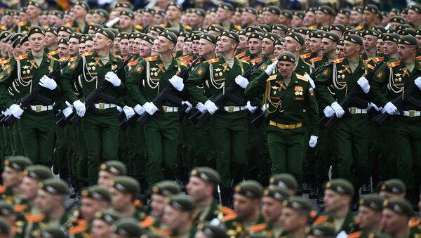Војна парада на Црвеном тргу - Sputnik Србија