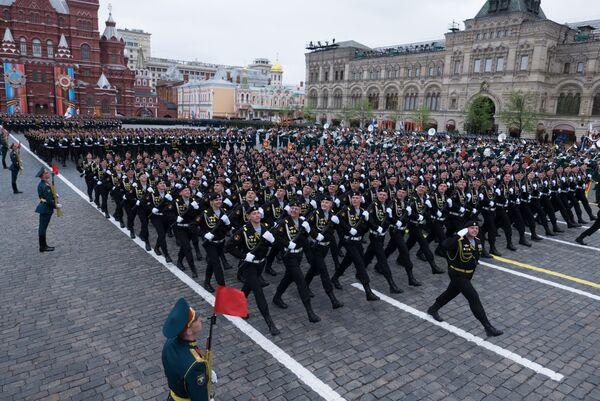 Војна парада у Москви поводом 72. годишњице победе у Великом отаџбинском рату, на Дан победе, 9. мај 2017. - Sputnik Србија