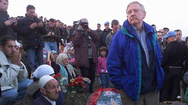 Vilijam Voker među Albancima na KiM 1999. godine - Sputnik Srbija