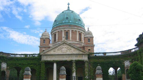 Улаз на гробље Мирогој, Загреб - Sputnik Србија