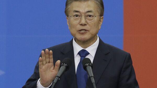 Novoizabrani južnokorejski predsednik Mun Džae In - Sputnik Srbija